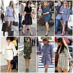 Vestidos camiseros, todo un clásico Celebrities, Ropa, Vestidos, Weblog - El Rincón de Moda