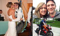 Touching video shows paraplegic veteran dancing with wife at wedding