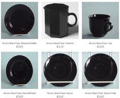 Arcoroc- Black @ http://partyrentalcity.com/collections/arcoroc-black