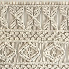 ● D E S C R I P T I O N The AVA large macrame tapestry features a modern geometric design, and is designed and handmade by Rianne Zuijderduin in The Netherlands, Europe. This wall hanging is made with 100% high quality twisted cotton cords. ● D I M E N S I O N S This macrame wall