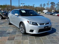 2012 SCION TC  52878 miles, Silver exterior color, 2.5L L4 FI DOHC 16V Engine, 6 Speed Transmission, Stock # 14802,
