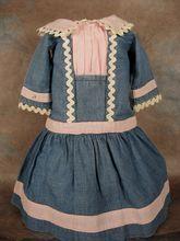 Vintage dress for a Bleuette