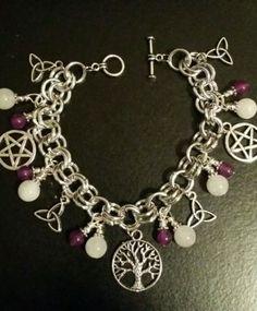 Gypsy Witch Chunky Charm Bracelet New in Everything Else | eBay