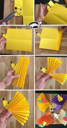 Children& activities, more than 2000 coloring pages - diy paper & origami - handicrafts -. - Children& activities, more than 2000 coloring pages – Diy Paper & Origami – Crafts – - Kids Crafts, Preschool Crafts, Arts And Crafts, Paper Crafts, Preschool Shapes, Preschool Colors, Free Preschool, Craft Projects, Craft Ideas