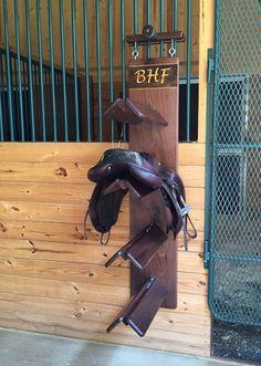 Saddle Rack by 1776ManeStreet on Etsy