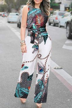 Palazzo Pants Outfit For Work. 14 Budget Palazzo Pant Outfits for Work You Should Try. Palazzo pants for fall casual and boho print. Fashion Mode, Fashion Pants, Fashion Outfits, Fashion Tips For Women, Womens Fashion, Jumpsuit Pattern, Pants For Women, Clothes For Women, African Fashion Dresses