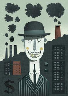 Progress? | Illustrator: Peter Donnelly