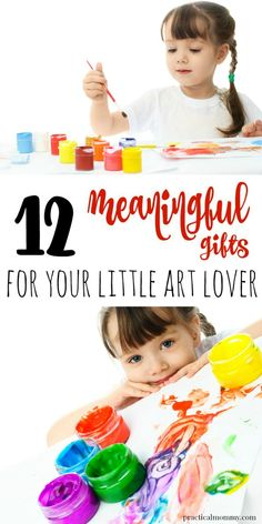 12 Meaningful Gifts For Kids Who Love Arts and Crafts