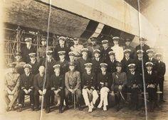 Original crew of the USS Shenandoah