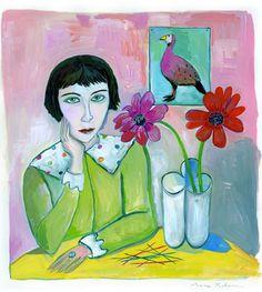 MAC Make-Up Art Cosmetics Fall 2009 Collection As Seen By Illustrator Maira Kalman