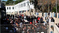 Lampedusa, una prigione per gli stranieri