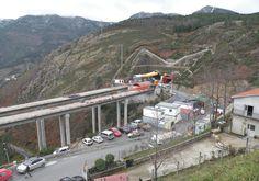 Acesso túnel do Marão Portugal