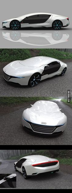 The new Audi A9 Design Concept