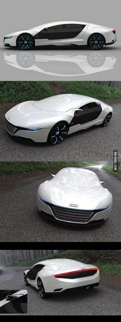 The new Audi A9 Design Concept More