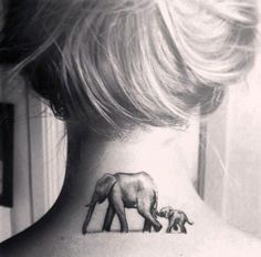 I want to get matching tattoos with my mum