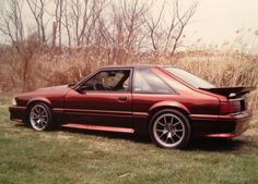 Babes car :) 1990 ford mustang foxbody