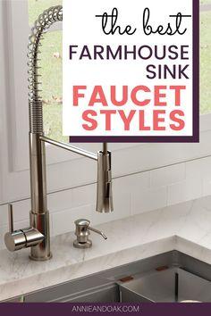 Best Kitchen Faucets, Best Faucet, Farmhouse Sink Kitchen, Kitchen Styling, Cabins, Kitchen Design, Kitchens, Advice, Explore
