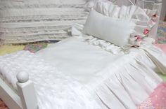 American Girl Shabby Bedspread Set by DebbieCalif on Etsy, $25.00