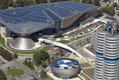 BMW Welt (BMW World) Museum Building, Munich, Germany Urban Architecture, Amazing Architecture, I Want To Travel, Us Travel, Bmw, Car Museum, Bucket List Destinations, Oeuvre D'art, Les Oeuvres