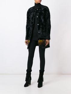 #yvessalomon #women #fur #coat #feather #jacket #newin www.jofre.eu
