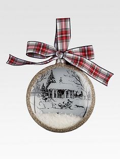 Juliska Country Estate Holiday Ornament/Winter Main House