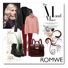 """Romwe 2"" by aida-1999 ❤ liked on Polyvore featuring Mulberry, MANGO, Christian Dior, women's clothing, women's fashion, women, female, woman, misses and juniors"