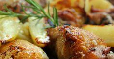Cocinando con las Chachas: Pollo asado con Tomillo, Romero y Limón