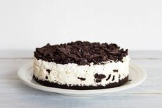 Krémes, tejszínes Oreo-torta, amit sütni sem kell: a legfinomabb kekszes sajttorta - Recept | Femina Banoffee Cheesecake, Healthy Cheesecake, Baked Cheesecake Recipe, Dessert Cake Recipes, Dessert Bread, Oreos, Oreo Mousse, Icebox Desserts, 3 Ingredient Desserts