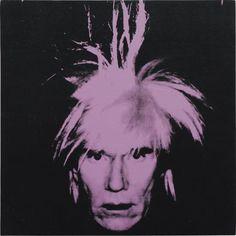 PHILLIPS : UK010414, Andy Warhol, Self-Portrait