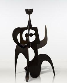 europeansculpture:  Philippe Hiquily (1925-2013) - La marathonienne, 1981