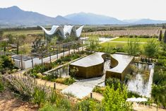 Bosjes chapel: the most stylish countryside sanctuary Growing Tree, Horticulture, Garden Bridge, Countryside, Places To Go, Wedding Decorations, Outdoor Structures, Landscape Architects, Plants