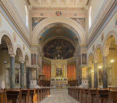 Cathedral Basilica of St. Dionysius the Areopagite Cathedral Basilica, Church Interior, Neoclassical, Roman Catholic, Architecture, Barcelona Cathedral, Taj Mahal, Saints, City
