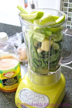 DR OZ MORNING SMOOTHIE: Green Apple, Spinach, Cucumber, Celery, Ginger, Parsley, Lemon, Lime #weightlossrecipes