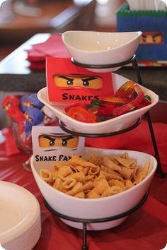 """""""Pyfador Snake Friends"""" snacks"""