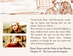 How awesome would it of been to see Rupert and Emma do this scene in the movie! Awe <3