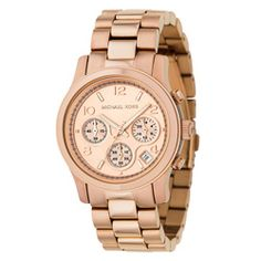 @Overstock.com - Michael Kors Women's MK5128 Chronograph Rose Gold Watch - A rose goldtone finish defines this uniquely elegant Michael Kors watch. The women's timepiece is finished with a sleek golden dial.  http://www.overstock.com/Jewelry-Watches/Michael-Kors-Womens-MK5128-Chronograph-Rose-Gold-Watch/5336888/product.html?CID=214117 $209.99