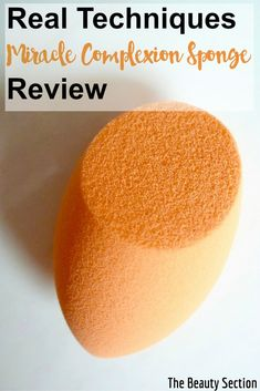 Real Techniques Miracle Complexion Sponge Review | Beauty Blender Dupe?