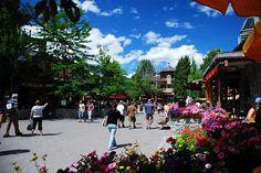 #Whistler Village summer strollin'