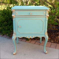 Furniture. Classic Hand Painted End Tables Ideas . Vintage Hand Painted End Tables Furniture Design