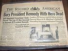 Mahanoy City,Pa.Newspaper Nov.25 1963 The Record American
