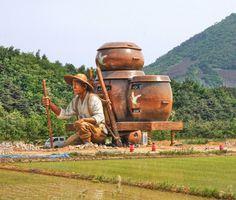 52-foot-tall Sculpture of a Farmer Is Also an Office Building and Art Center