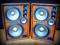 Technics SB2200a ... Mid 70's beasts!!!! #technics #speakers #vintage #seventies
