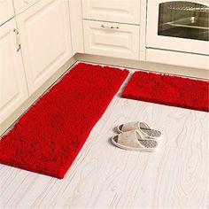 Beau Red Kitchen Runner Rugs Set   Runner   Pinterest   Kitchen Runner Rugs,  Kitchen Runner And Red Kitchen
