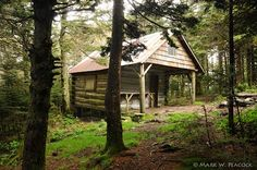 Roan High Knob Shelter. Tennessee/North Carolina