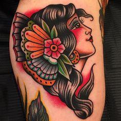 Grazie Mirko! Done at @boldwillhold.tattoo #samuelebriganti #boldwillhold #boldwillholdfirenze #posttradtattoo