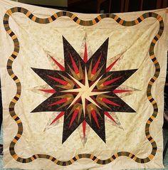 Vintage Compass, Quiltworx.com, Made by CI Siska Dart