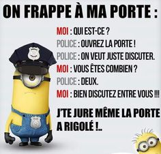 Read Blagues minions from the story Mon livre sur tout et rien{FINI} by with 108 reads. On part sur des blagues minion qui me. Minion Humour, Minion Jokes, Minions Quotes, Image Fun, French Quotes, Geek Humor, Laugh Out Loud, Rage, I Laughed