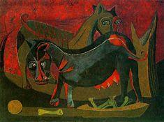 Dos perros. 1941.