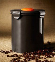 """BeanSafe """"The Coffee Storage Solution"""", Polypropylene -MOCHA by Regency Products International, Inc.. $18.99. Made of Food Grade BPA Free Polypropylene. Valve is dishwasher safe and never needs replacement. Stores up to 16-Ounces of Whole or Ground Coffee. Scoop included. Unique one-way valve that preserves freshness of whole, roasted and ground coffee beans. BeanSafe® has a patented one-way Pressure Release Valve that keeps out air and moisture while permitting ..."""