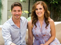 Erin Krakow & Daniel Lissing's When Calls the Heart Announcement ...